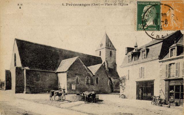 place de l'église vue nord