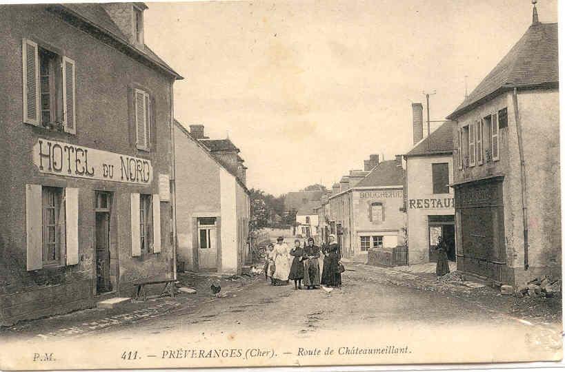Preveranges route de Châteaumeillant