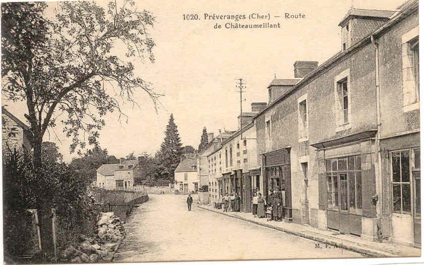 route de Châteaumeillant.