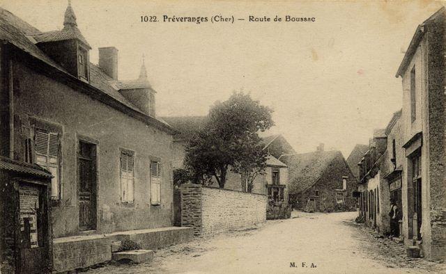 route de boussac
