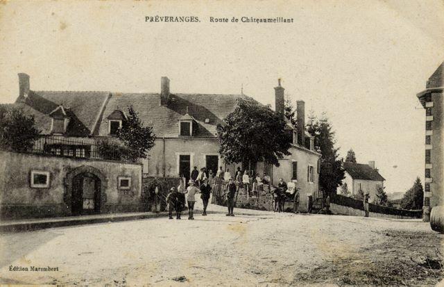 route de Chateaumeillant