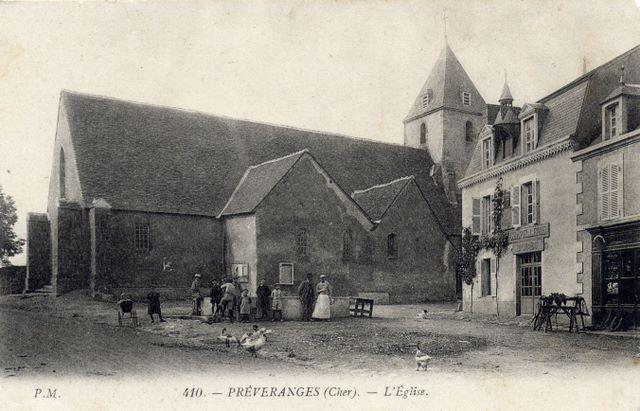 place et église