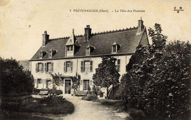 la villa des platanes