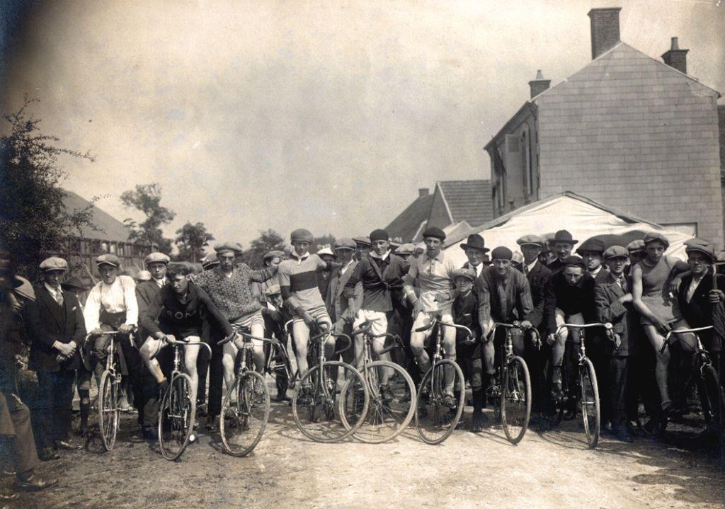 Course en 1900