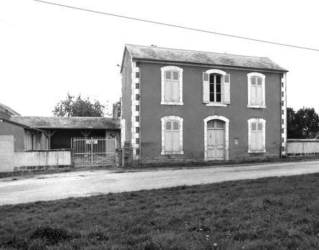 école du Montet construite en 1892