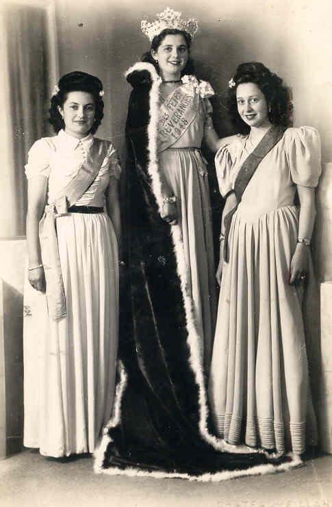 Miss preveranges 1948 simone lorcery simone girard ginette laraud