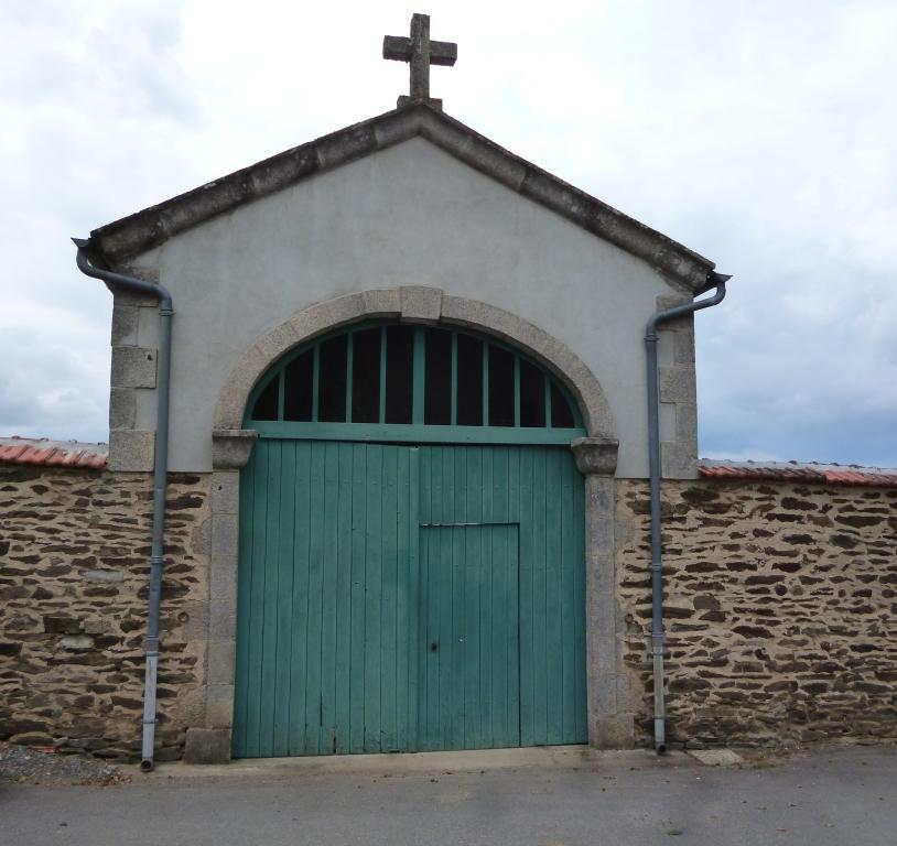 La construction du cimetière actuel date de