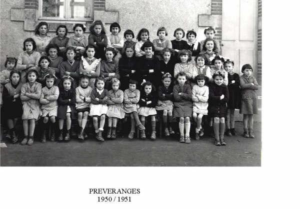 Preveranges 1950 1951