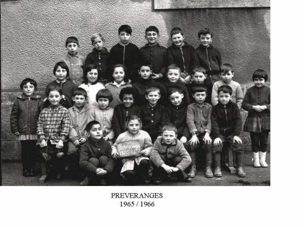 Preveranges 1965 1966